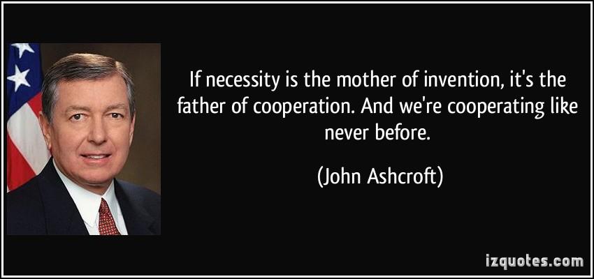 Cooperating quote #1