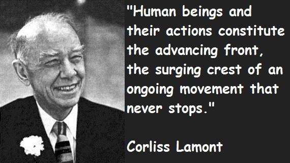 Corliss Lamont's quote #1