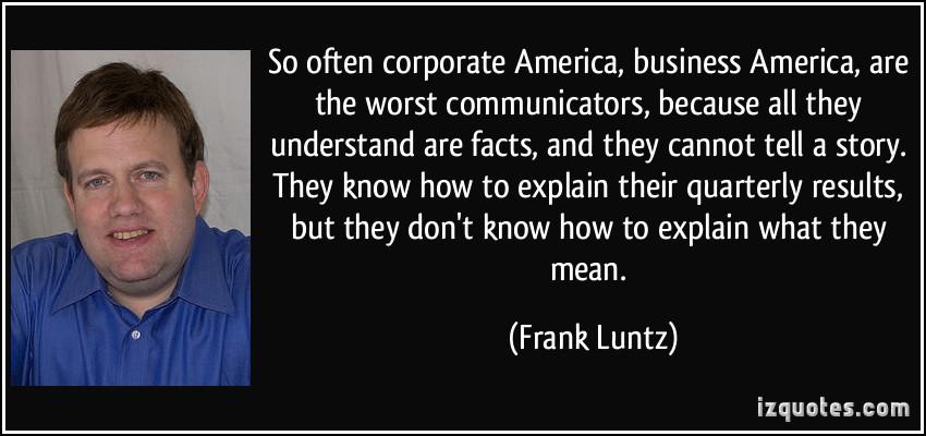 Corporate America quote #1