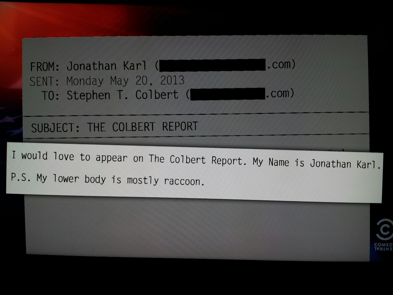 Correspondent quote #2