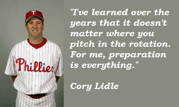 Cory Lidle's quote #3
