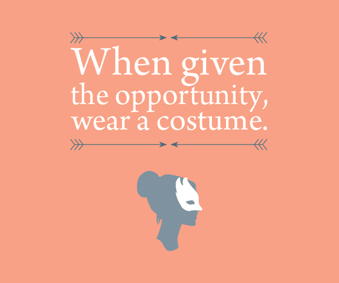 Costume quote #2