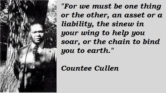 Countee Cullen's quote #1