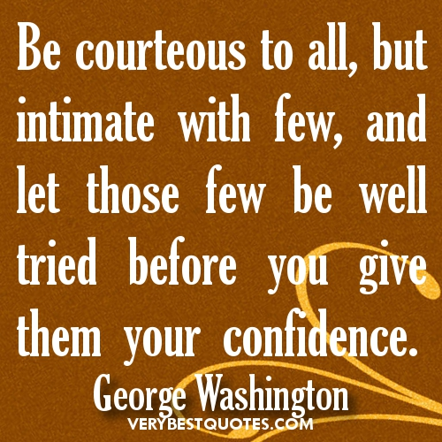 Courteous quote #1