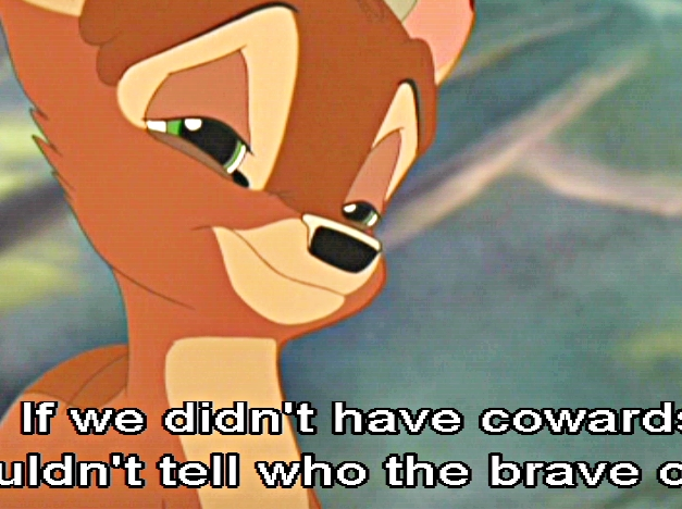 Cowards quote #2