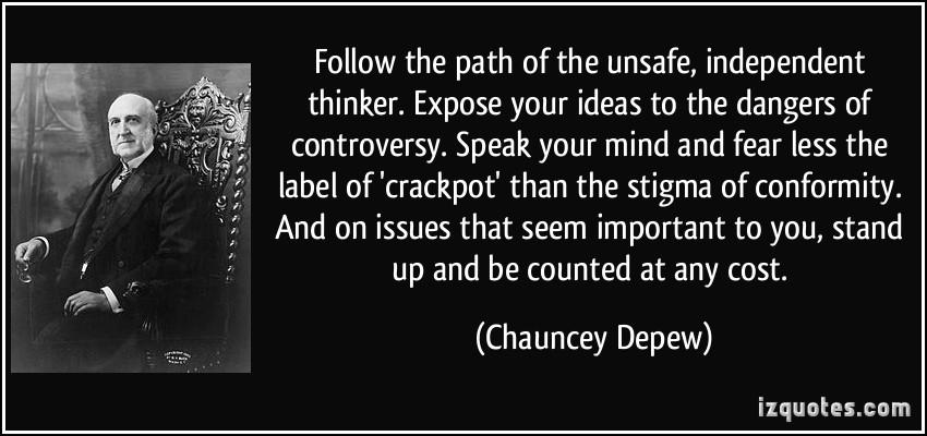 Crackpot quote #2