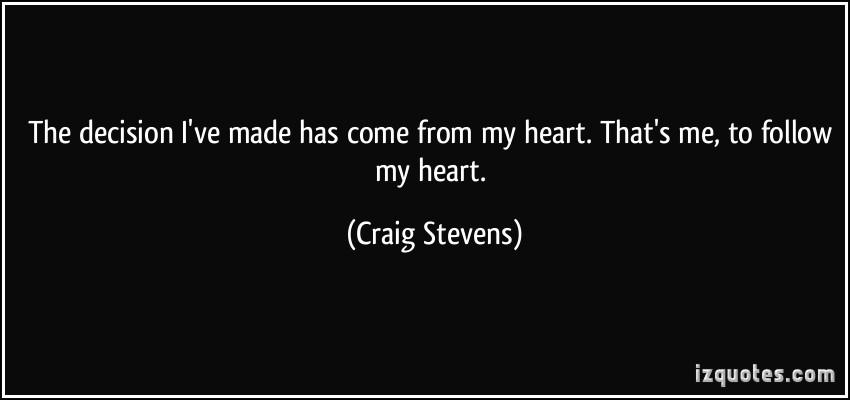 Craig Stevens's quote #1