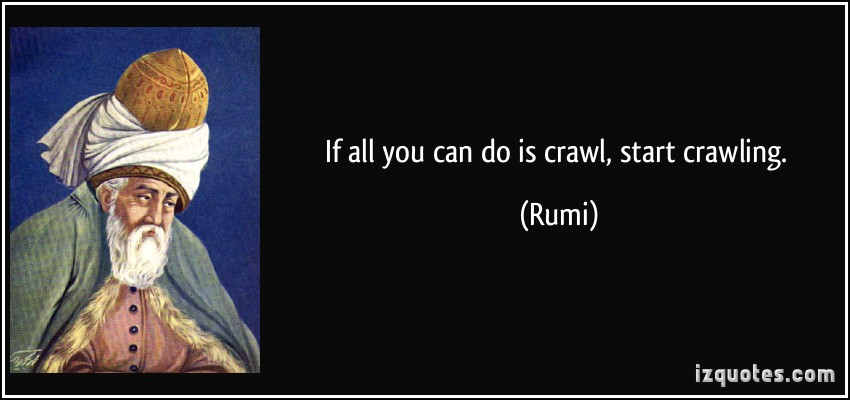 Crawling quote #1