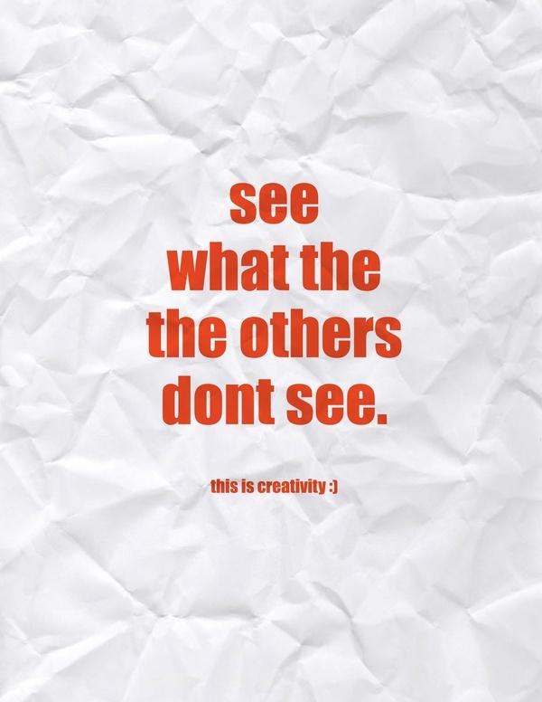 Creativity quote #3
