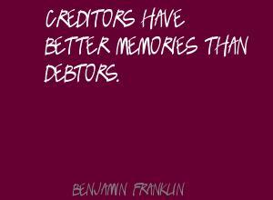 Creditors quote #1