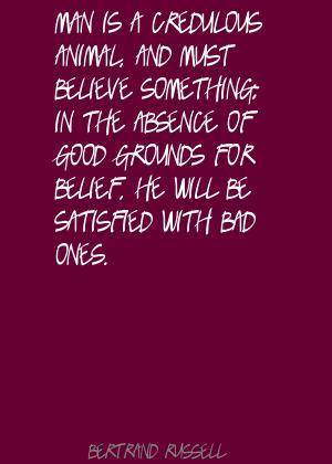 Credulous quote #1