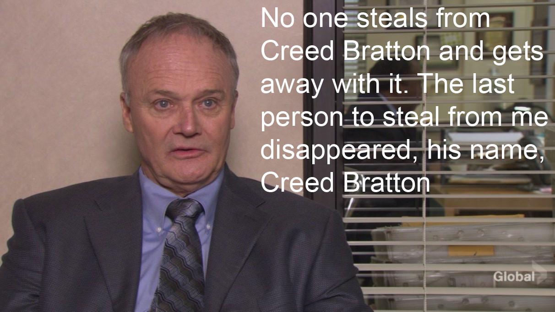 Creed Bratton's quote #5