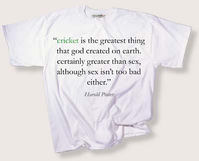 Cricket quote #1