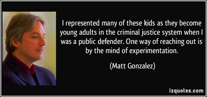 Criminal Justice System quote #1