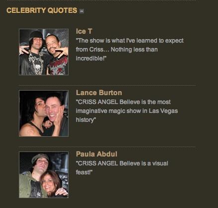 Criss Angel's quote #4