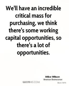 Critical Mass quote #2