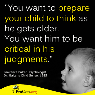 Critical Thinking quote #1