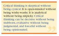 Critical Thinking quote #2