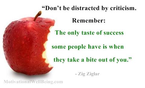 Criticism quote #2