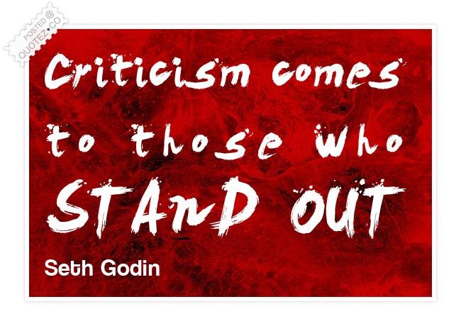 Criticism quote #3