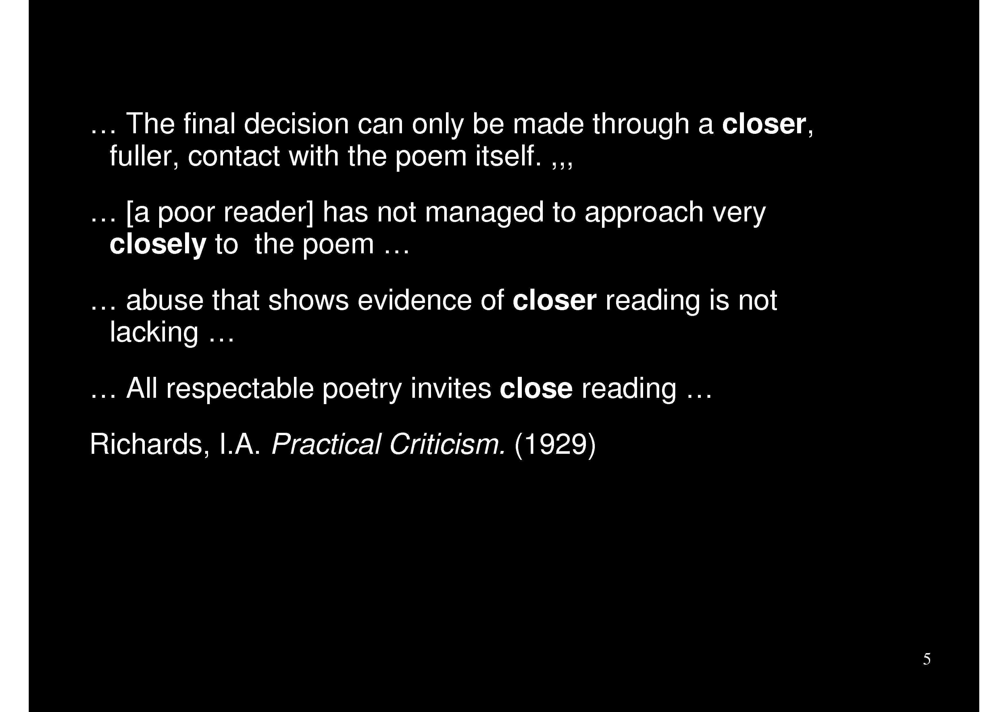 Criticism quote #4