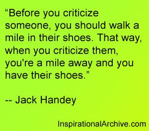 Criticize quote #2