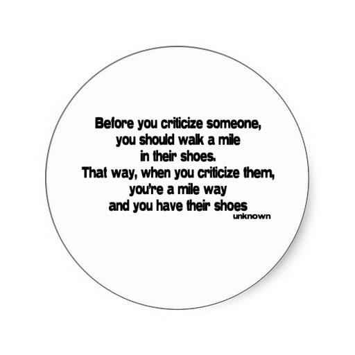 Criticize quote #6