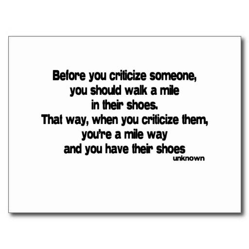 Criticize quote #7
