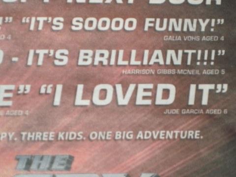 Critics quote #1