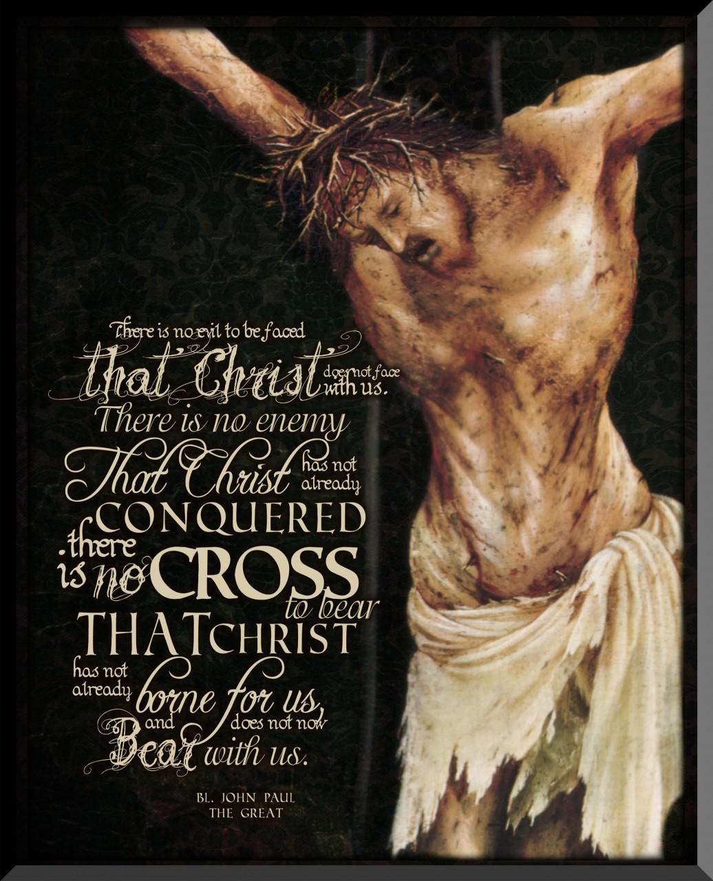 Crucifixion quote #1
