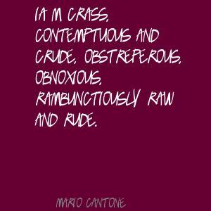 Crude quote #1