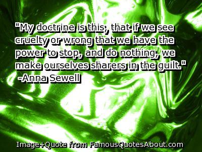 Cruelty quote #8