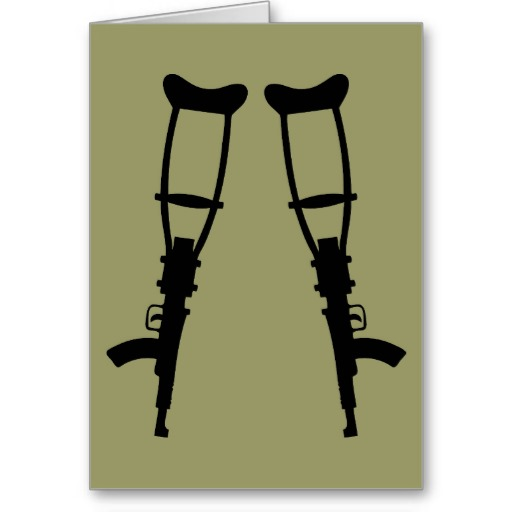 Crutches quote #1