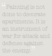 Cubism quote #1