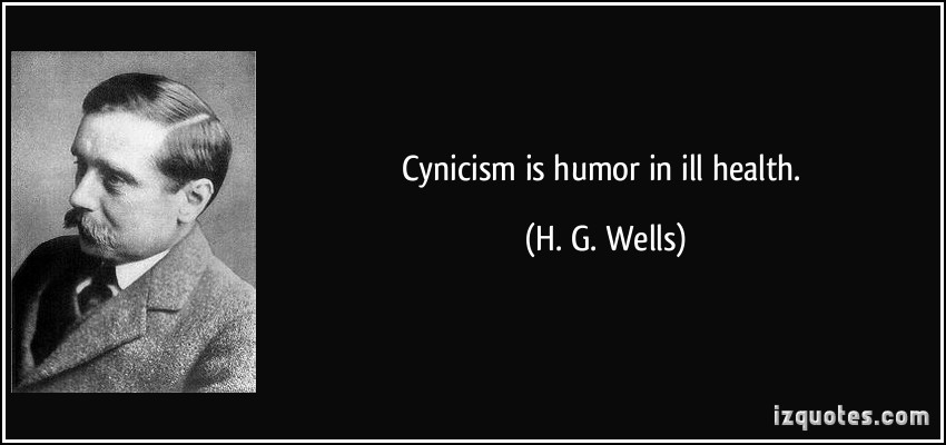 Cynicism quote #5