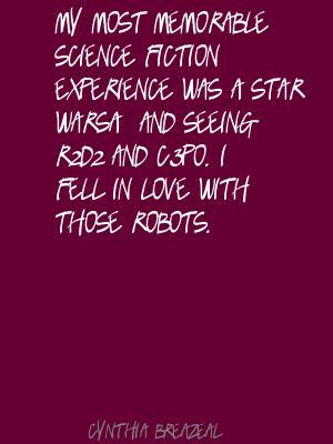 Cynthia Breazeal's quote #2