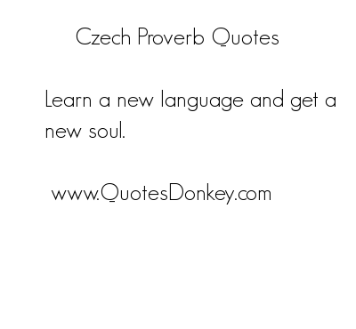 Czech quote #1