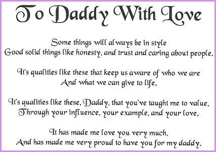 Daddy quote #1