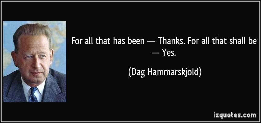 Dag Hammarskjold's quote #8