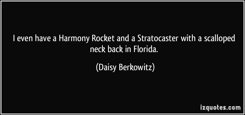Daisy Berkowitz's quote #5