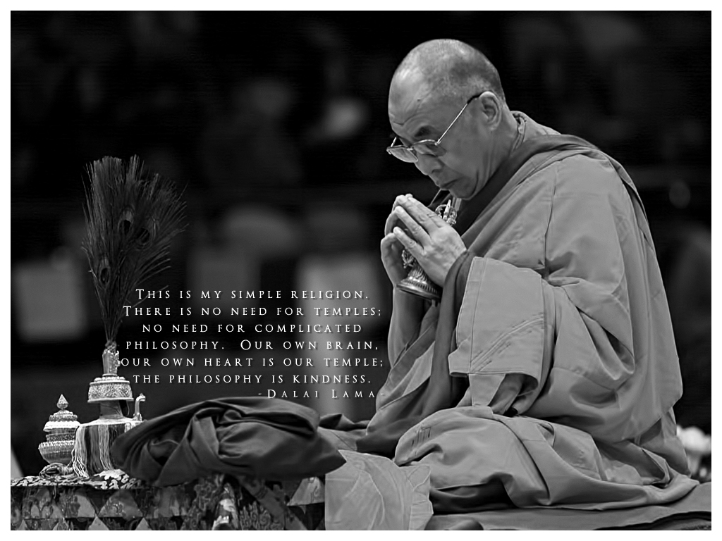 Citaten Dalai Lama : Dalai lama quotes about yoga a z quotes