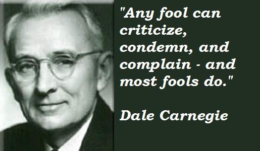 Dale Carnegie's quote