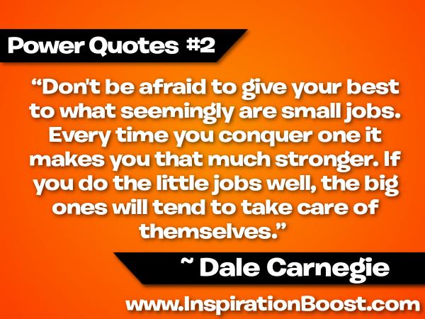 Dale Carnegie's quote #2