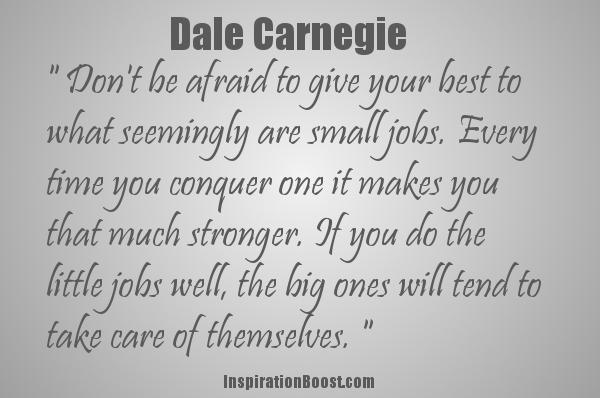 Dale Carnegie's quote #4