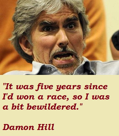 Damon Hill's quote #6