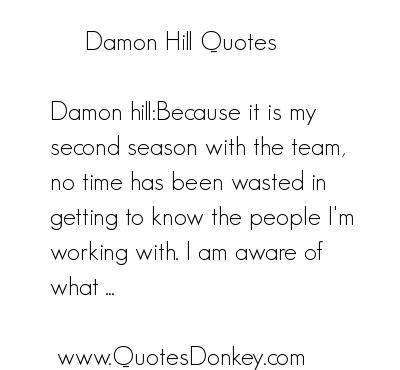 Damon Hill's quote #8