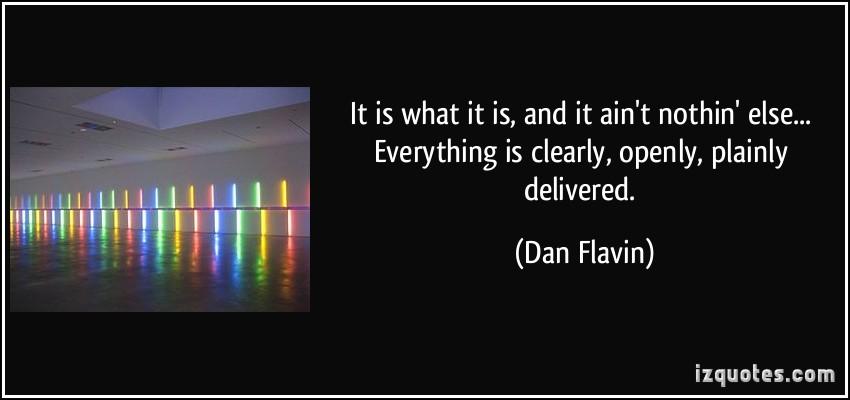 Dan Flavin's quote #2