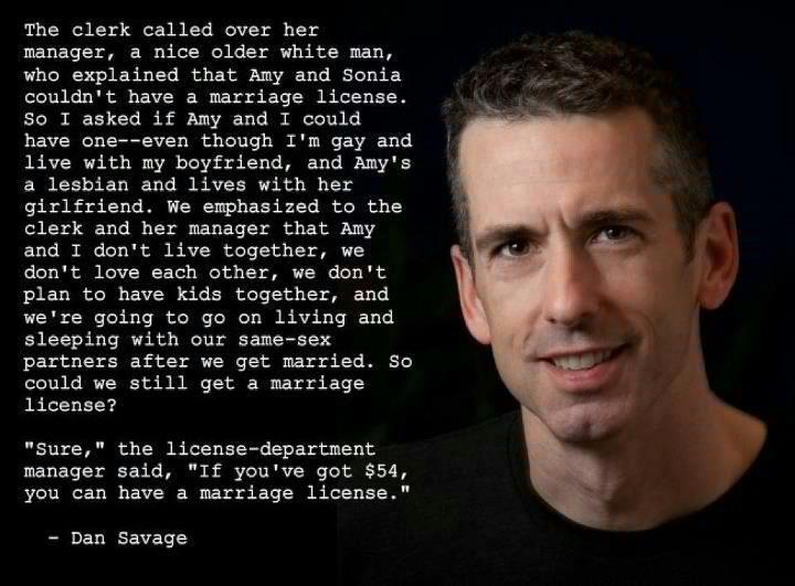 Dan Savage's quote #3
