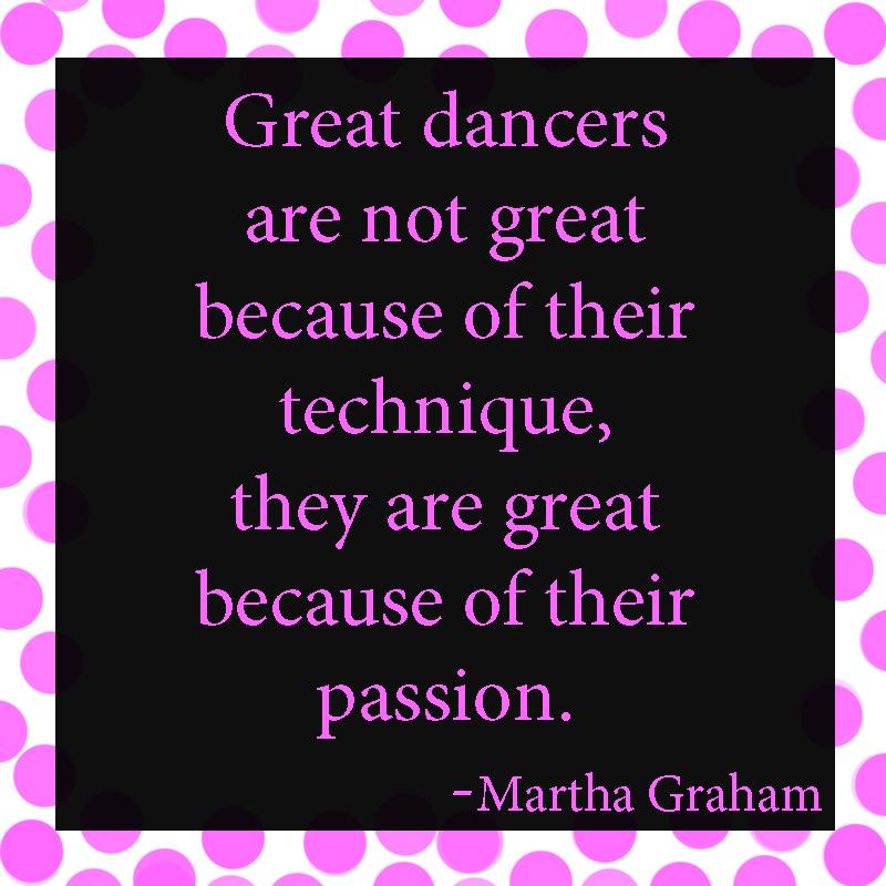 Dancers quote #4