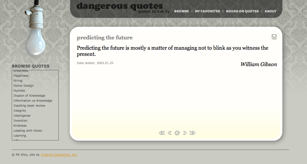 Dangerous quote #2